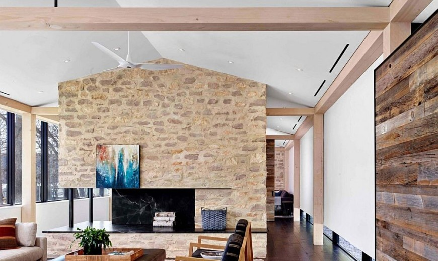 prefabricated building walls this novel prefab austin home was built in just 12 months