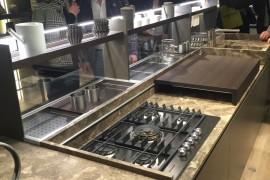 Gorgeous modern kitchen design by Ernestomeda at EuroCucina 2016