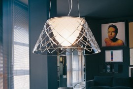 Gorgeous pendant provides great task and ambient lighting