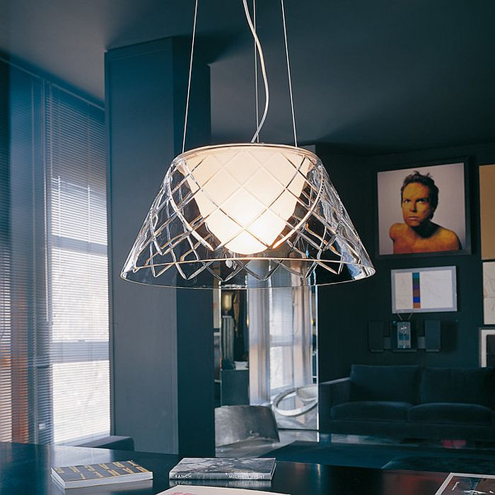 Gorgeous pendant provides great task and ambient lighting [Design: FLOS]