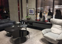 Harmonius and gorgeous living room compositions by Natuzzi at Salone del Mobile 2016
