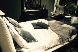 Ilia by Mauro Lipparini along with the comfy bed