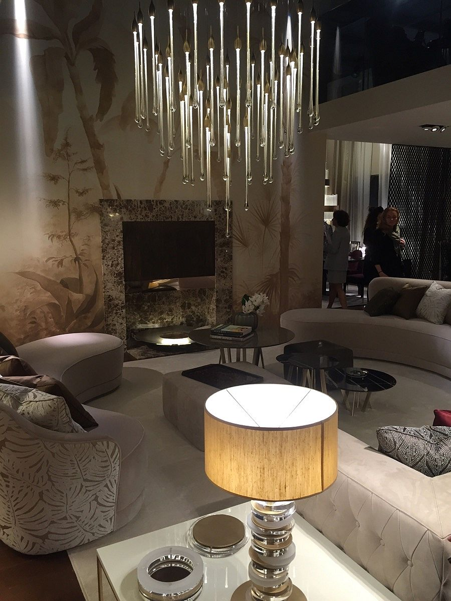 Individual masterpieces combined to create perfect interior by Paolo Castelli