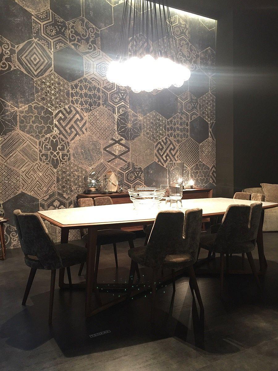 Industrial modren dining room design by MaxDivani