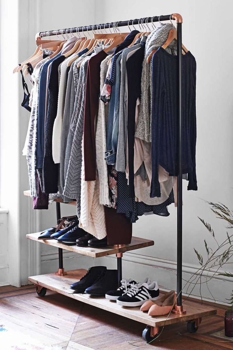 How to Display Your Capsule Wardrobe