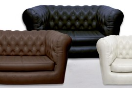 Inflatable chesterfield sofas from Sofair