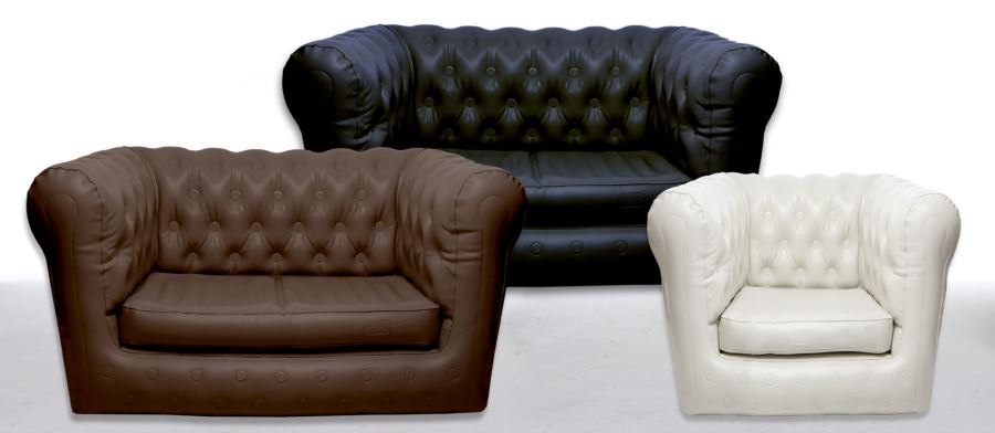 View In Gallery Inflatable Chesterfield Sofas From Sofair