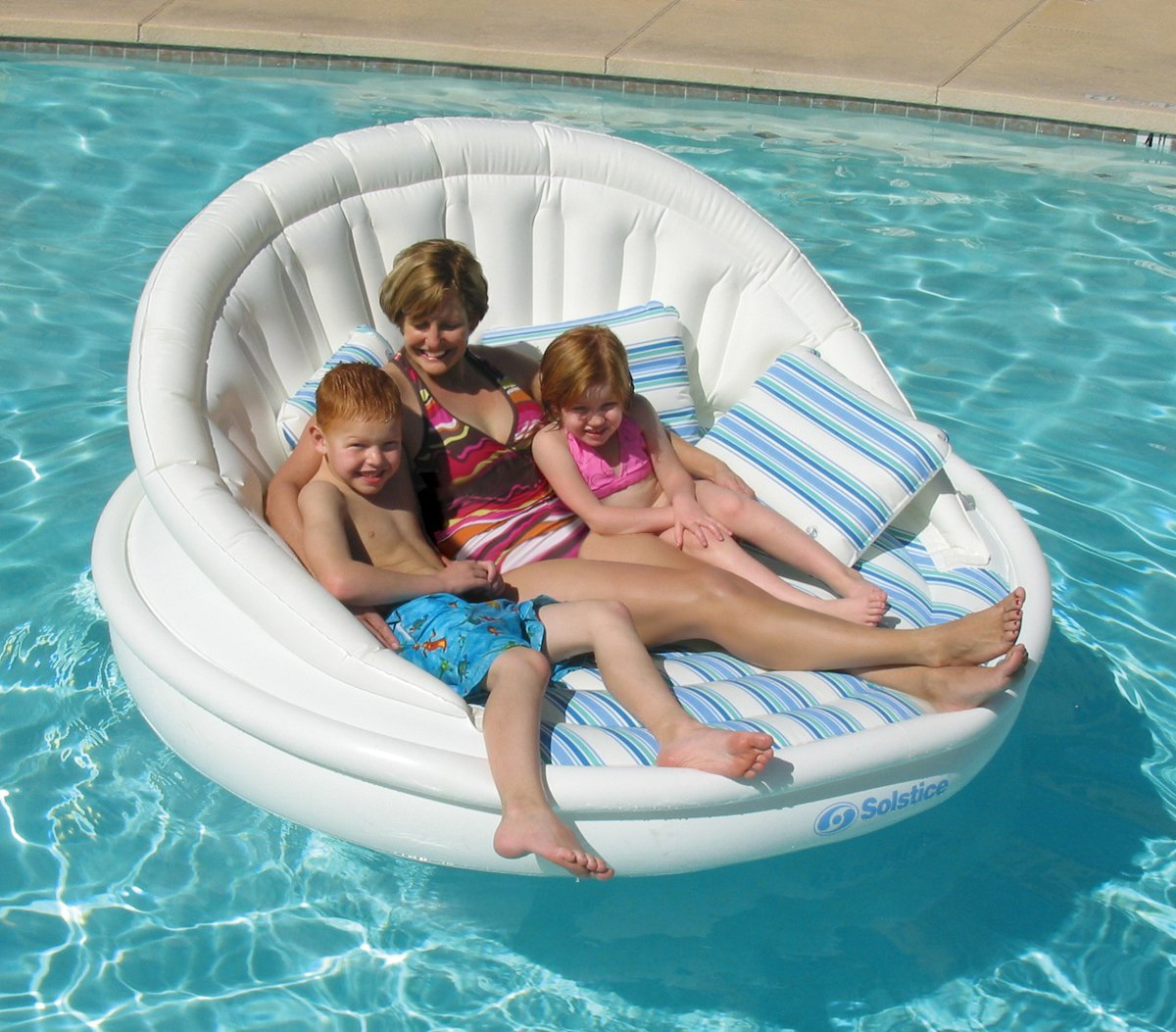 Inflatable Pool Furniture. Interesting Pool View In Gallery Inflatable Pool  Sofa From Solstice For Pool