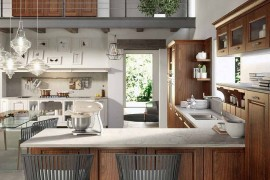 L Shaped kitchen design from Arrital 270x180 Contrada: Time for a Modern Vintage Makeover from Arrital