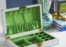 Lacquered jewelry box from Jonathan Adler