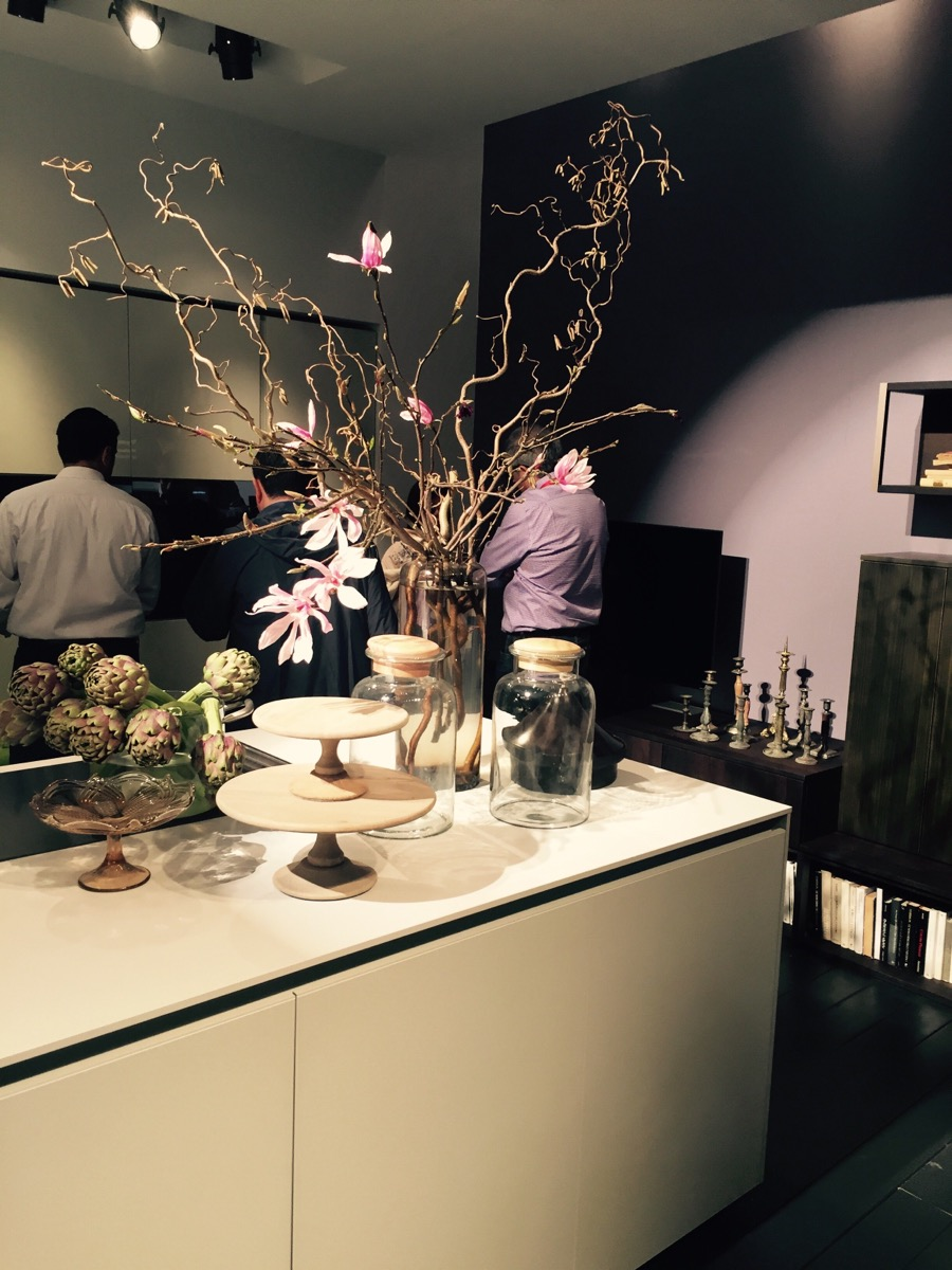 Latest kitchen design ideas and compositions from Comprex at Eurocucina, Salone del Mobile 2016