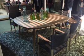 Latest outdoor decor collections from Unopiù at Slaone del Mobile 2016