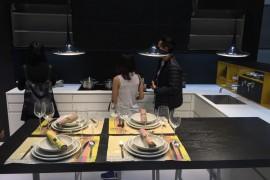 Leicht kitchens at Leicht at EuroCucina 2016