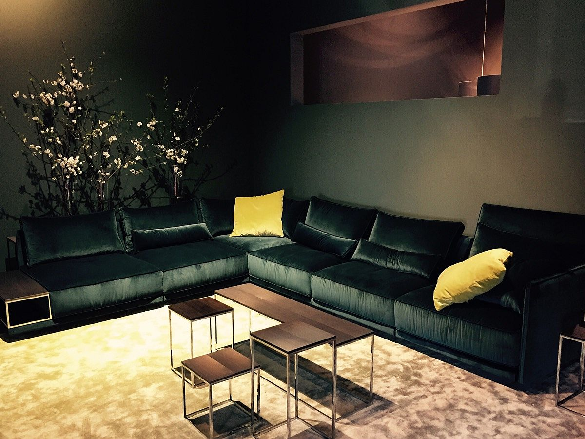 Luxurious sectional from JAB ANSTOETZ