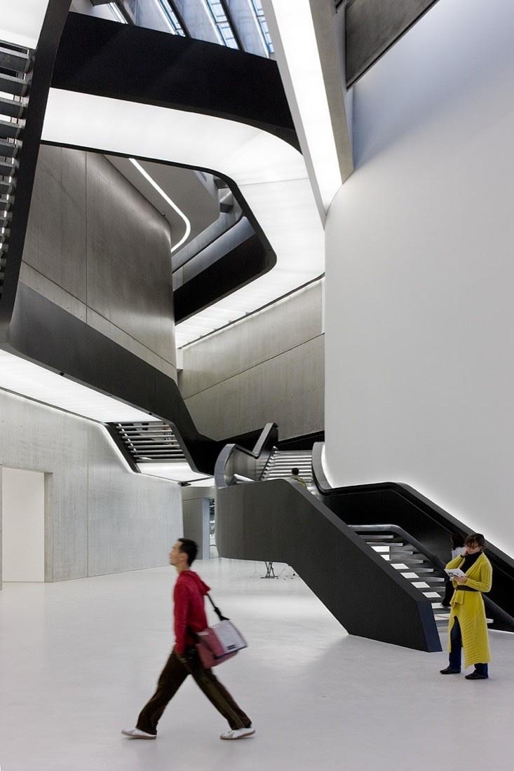 MAXXI Museum Rome interior