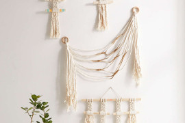 Macrame wall hangings from Urban Outfitters