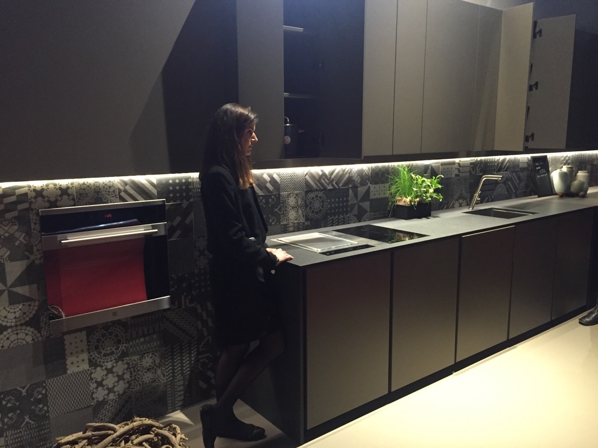 Maistri kitchens at EuroCucina 2016, Milan