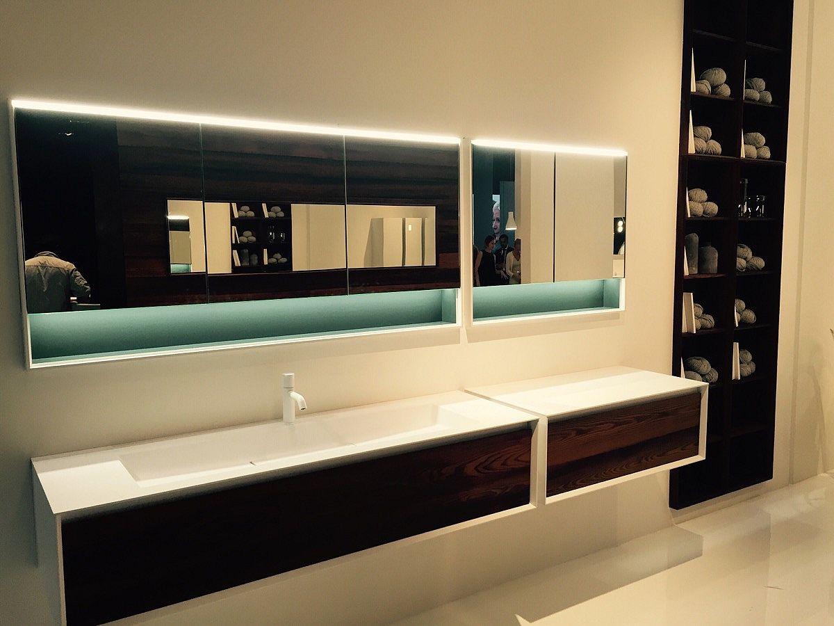 Minimal and beautiful Falper bathrooms at Salone del Mobile 2016
