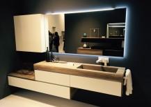 Minimal and innovative bathroom vanity design by Mobilcrab