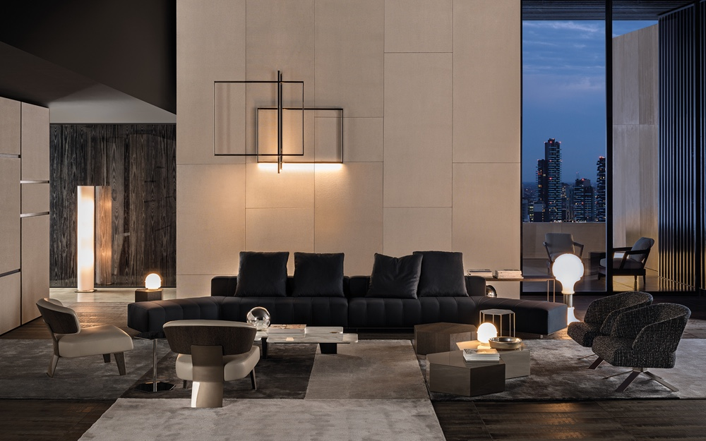 Minotti Freeman Lounge