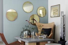 Mirrors, Candleholders, Vase Ikebana