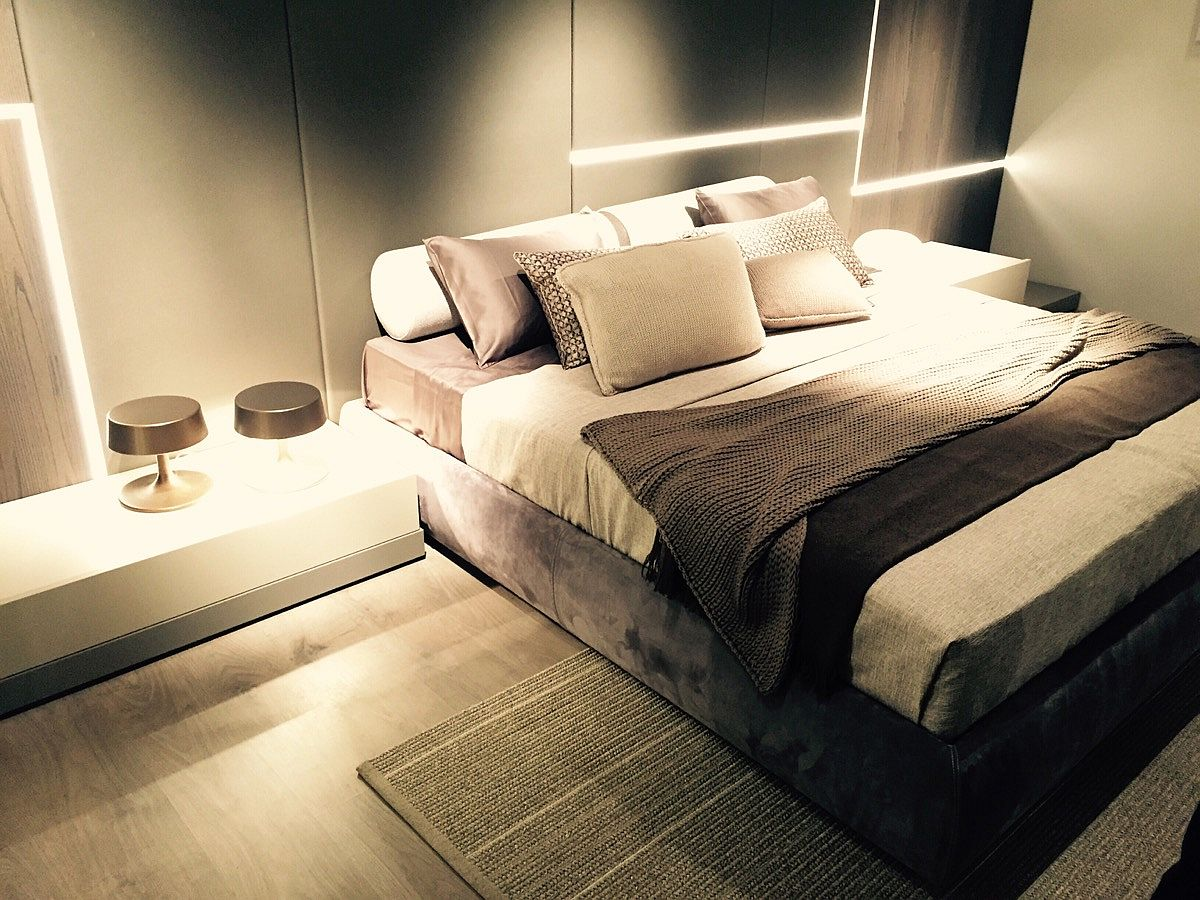 Modern bed design from misuraemme at salone del mobile for Misuraemme bed