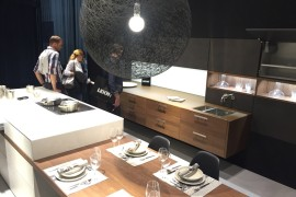 Modular and adaptable kitchen solutions from Leicht at EuroCucina 2016