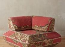 Modular corner chair from Anthropologie