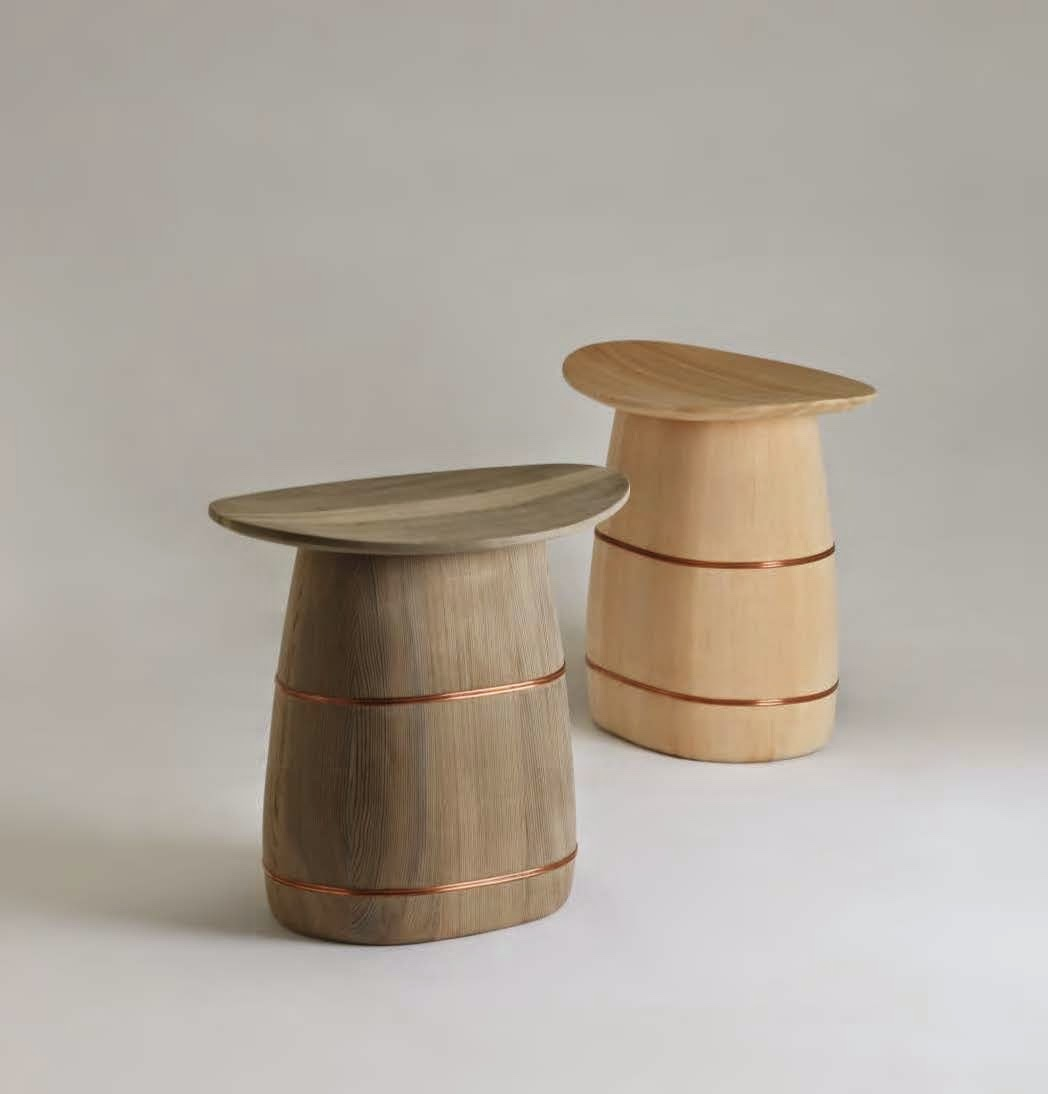 Nakagawa Mokkougei stools