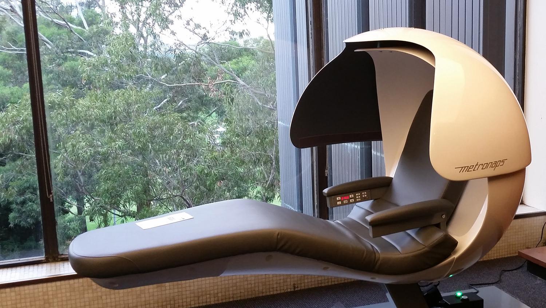 Napping pod at the University of Sydney