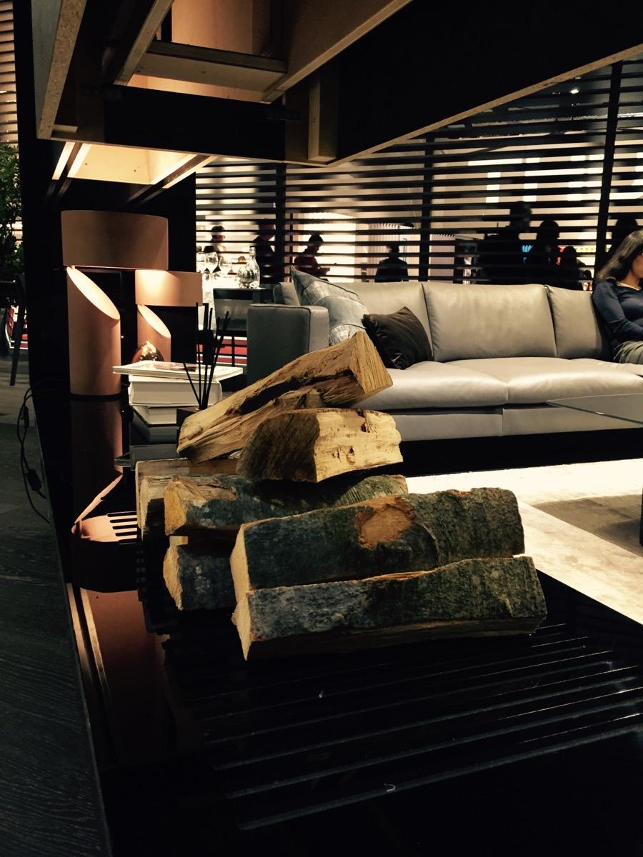 Natuzzi decor with a theme of harmony at the Salone del Mobile 2016