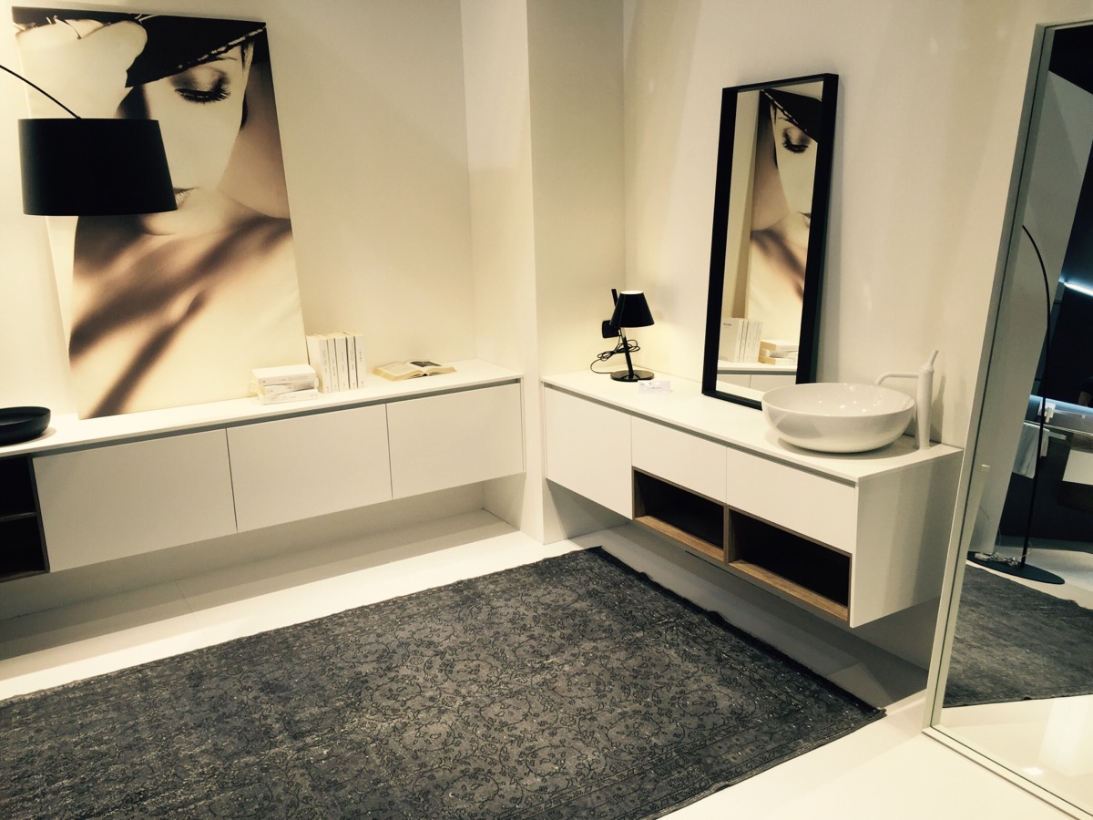 New and revamped bathroom collections by Mobilcrab at iSaloni 2016