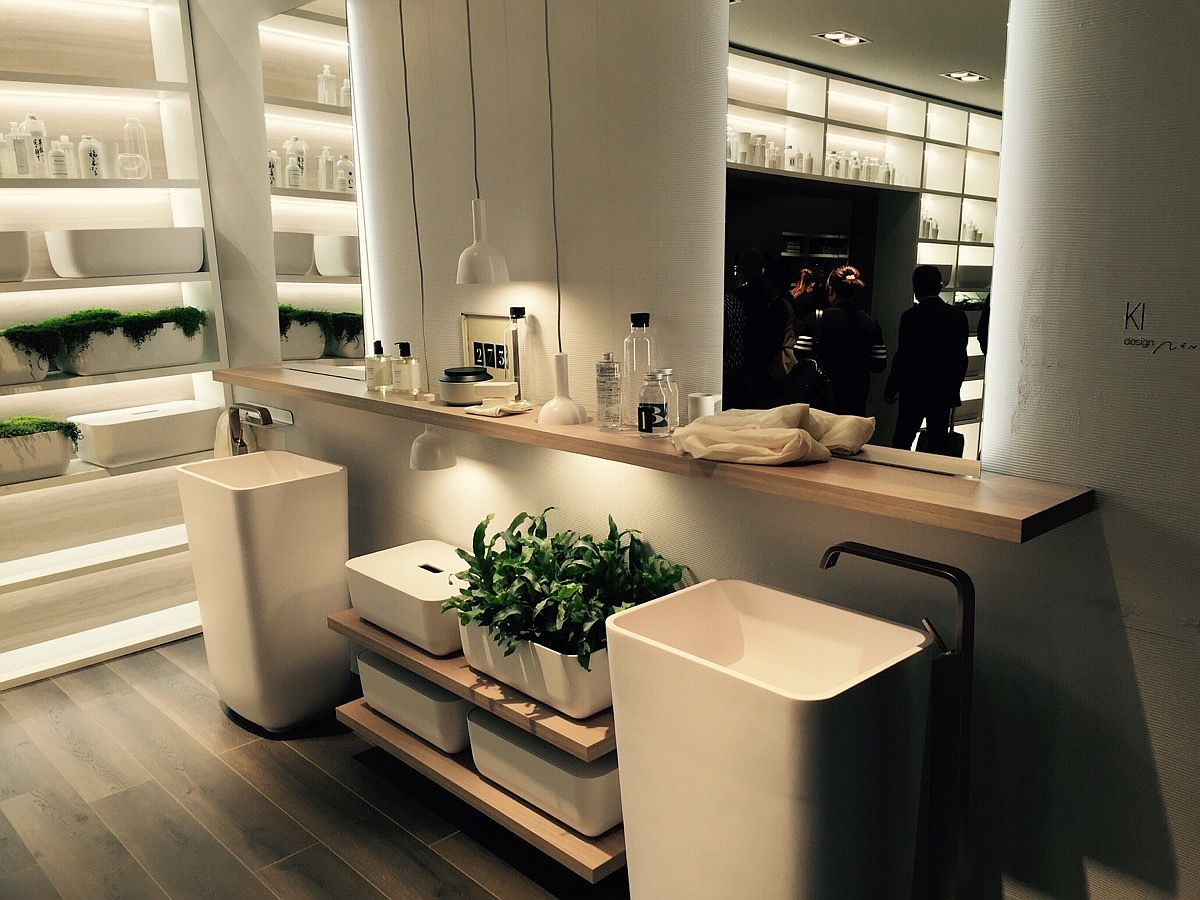 Our first look at the Ki Bathroom by Scavolini at Salone del Mobile 2016