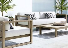 White Outdoor Patio Furniture.Patio Furniture And Decor Trend Bold Black And White