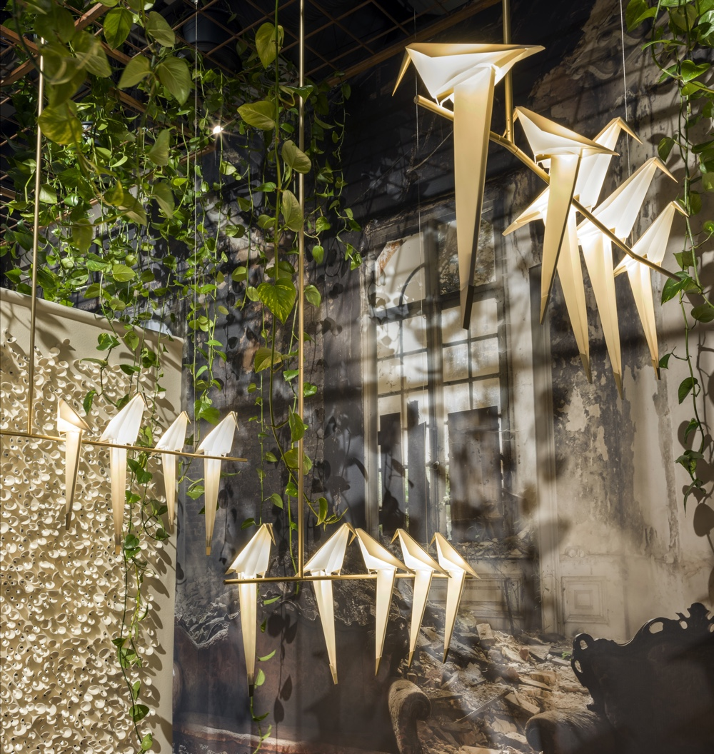 Perch Lights in Moooi setting