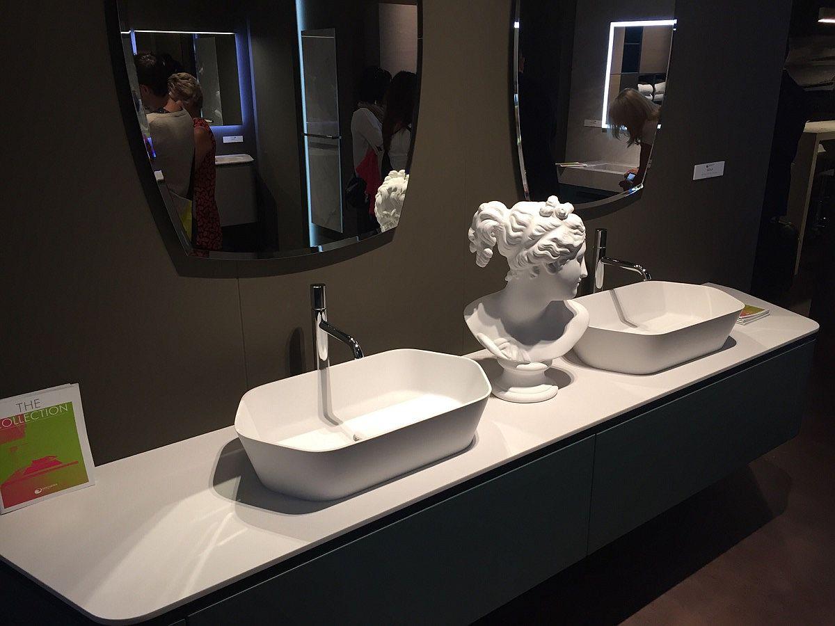 Refined bathroom vanity by Archeda