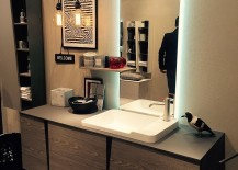 SMart bathroom design from Slaone del Mobile 2016