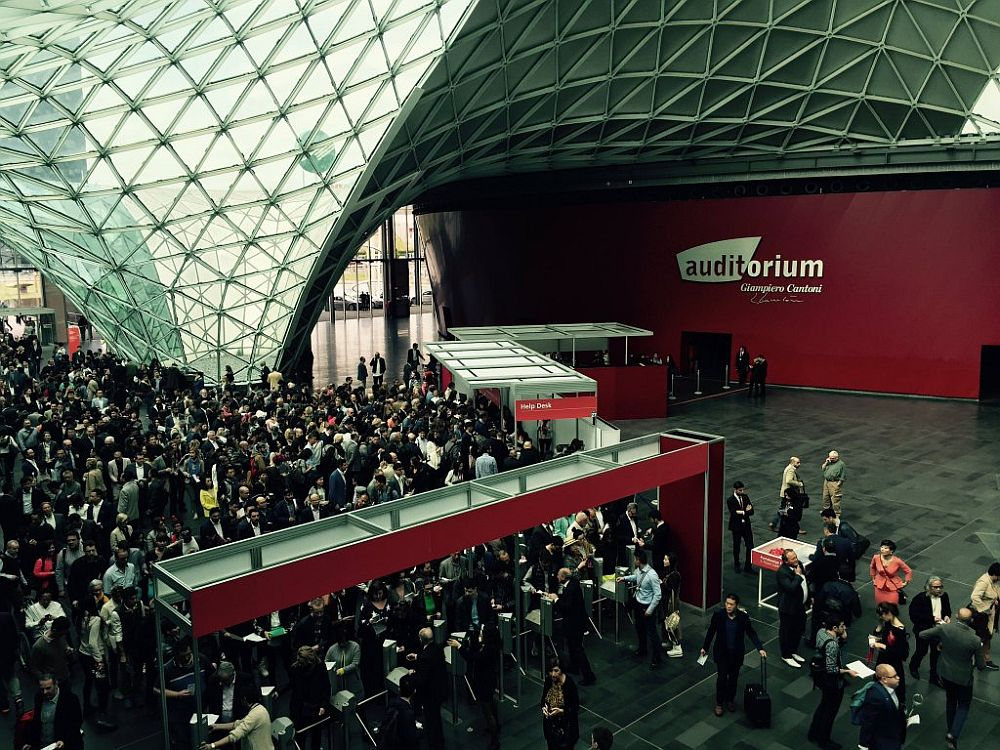 Live salone del mobile 2016 highlights from milan for Orari salone del mobile 2016