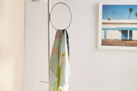 Sculptural clothing rack from Urban Outfitters