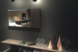 Sleek storage units and living room systems from Giellesse