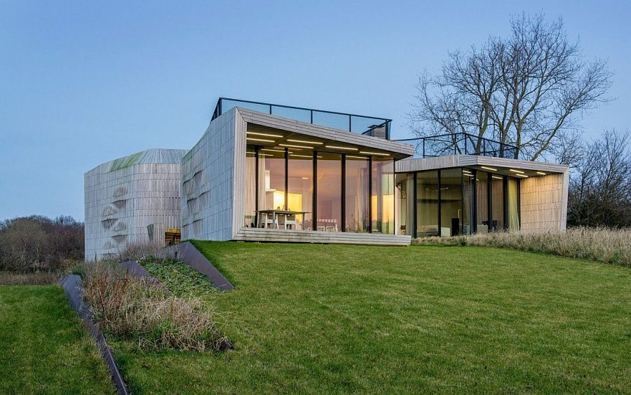 Smart and stylish W.I.N.D House in Noth Holland