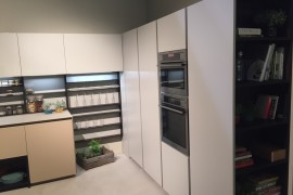 Smart kitchen cabinets and shelves make perfect use of corner space