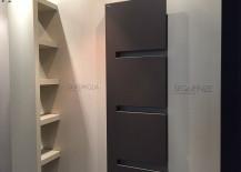 Smart, modern radiators from IRSAP on display