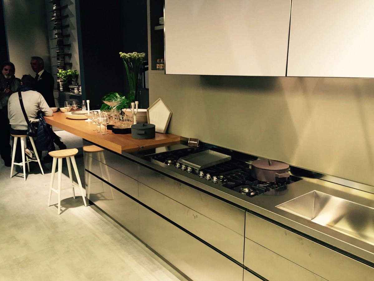 Stainless steel kitchens from ILVE