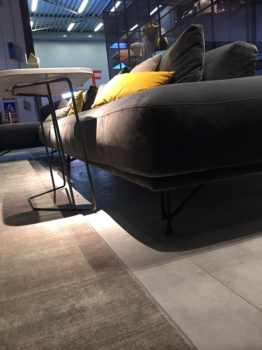 Stylish modern sofa systems from Ditre Italia, Milan 2016