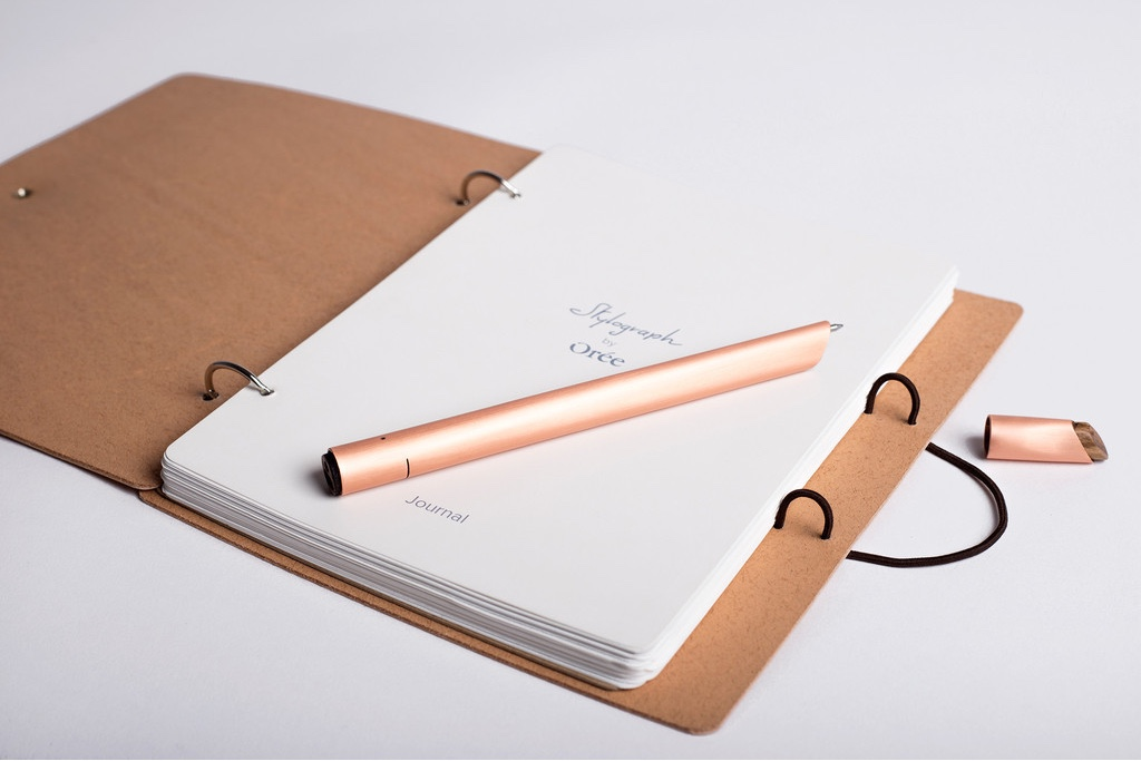 Stylograph copper smart pen