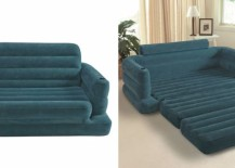 Teal inflatable pull out sofa 217x155 The 15 Best Inflatable Outdoor Sofas
