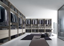 Tecnopolis walk-in closet from Anima Domus