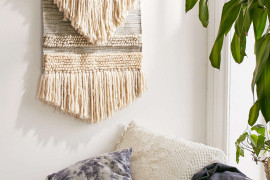Textured wall hanging from Urban Outfitters