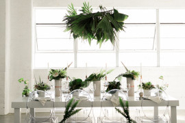 Tropical table from Green Wedding Shoes